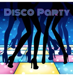 Disco party vector