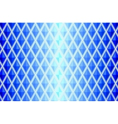 blue diamond shaped quadrangle vector image vector image