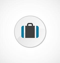 Case icon 2 colored vector