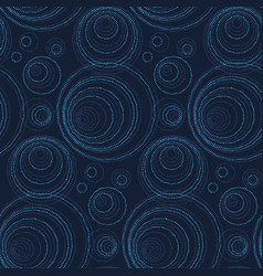 luxury abstract seamless pattern modern dot and vector image vector image