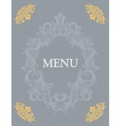 menu15 vector image vector image