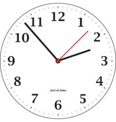 Tick tock vector