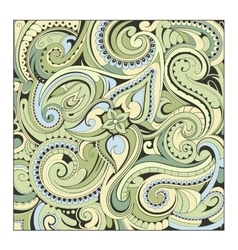 Paisley backdrop ornament vector