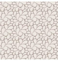 seamless pattern of stylized petals vector image