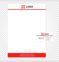 Isolated paper page  company vector