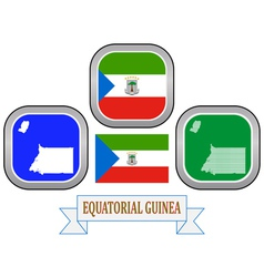 Symbol of equatorial guinea vector