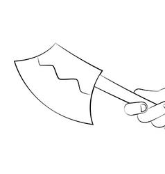Axe vector image