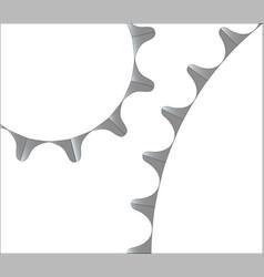 bicycle gear teeth vector image