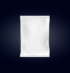 food snack pillow bag isolated on transparent vector image