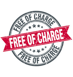 Free of charge vector