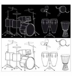 Percussion vector