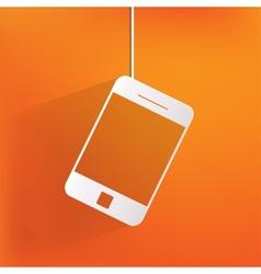 Smartphone web icon vector image vector image