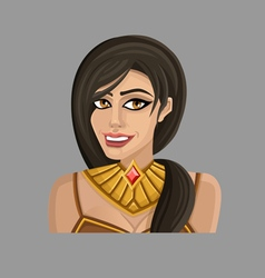Cartoon woman 2 vector