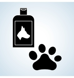 Pet shop design animal icon care concept vector