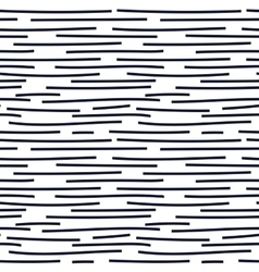 Hand drawn seamless indigo irregular dotted line vector