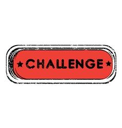 challenge vector image