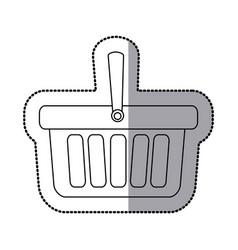 contour baskets icon image vector image vector image