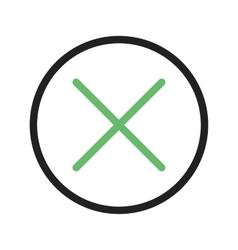 Do Not Cross vector image