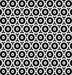 Gear seamless pattern abstract background vector