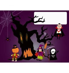 Haloween Invitation vector image vector image