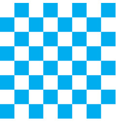 Light blue and white checker pattern vector