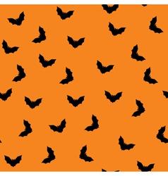 seamless bat pattern vector image