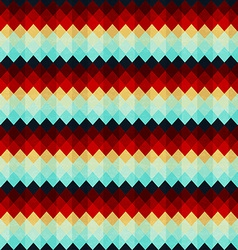 Vintage zigzag seamless pattern vector