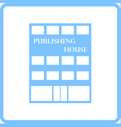 Publishing house icon vector