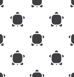 Turtle seamless pattern vector