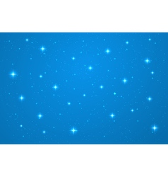 Blue night background vector image vector image