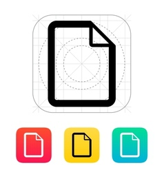 File icon vector