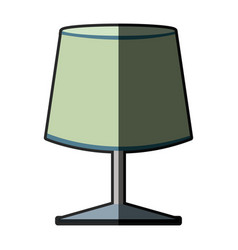 lamp decoration electric light appliance image vector image