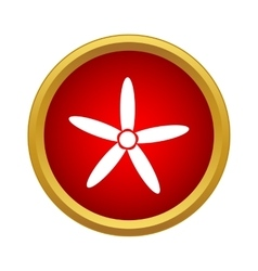 Propeller icon simple style vector image