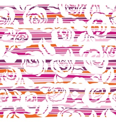 roses with stripes vector image