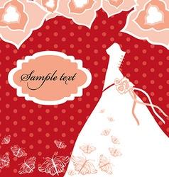 Weddingdress vector