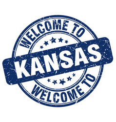Welcome to kansas vector