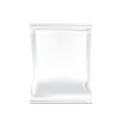 white plastic food snacks chips cookies vector image