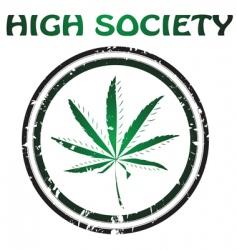 marijuana design vector image