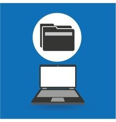 Computer analysis data folder file vector