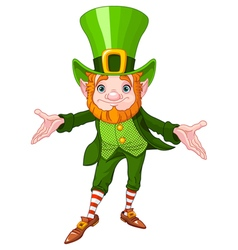 Lucky Leprechaun vector image