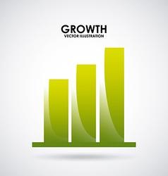 Growth design vector