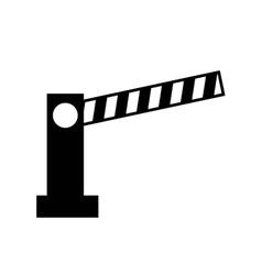 access bar parking icon vector image vector image