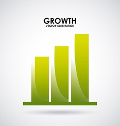 Growth design vector