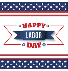 Happy Labor Day abstract background vector image