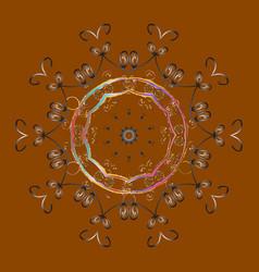 snowflake icon snowflake snowflake isolated on vector image vector image