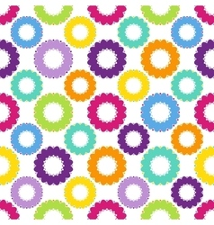 Abstract circle pattern color big vector
