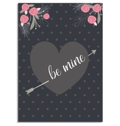 Love collection Valentines cards Templates for vector image vector image