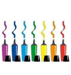pens isolated vector image