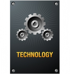 Technology sign vector