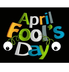 April fools day vector